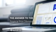 The Answer To The Financial Print Dilemma – Managed Print Services
